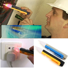New Led Electric Voltage Tester Detector Sensor Pen Alert Stick Volt Sensor 90~1000V #ZH079