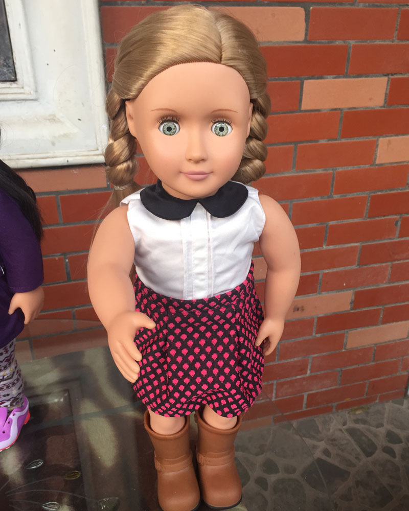 Free shipping 18 Inch American Girl Doll With American Girl Doll Accessories Clothes And Shoes  ADG12