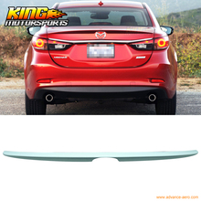 Buy Fit 2014-2016 Mazda 6 Sedan Flush Mount Trunk Spoiler OE Style Unpainted ABS for $47.99 in AliExpress store