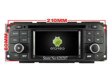 S160 Android 4.4.4 CAR player FOR JEEP Stratus Sedan(2002-2006) 300M , 9inch panel car audio stereo Multimedia GPS Quad-Core
