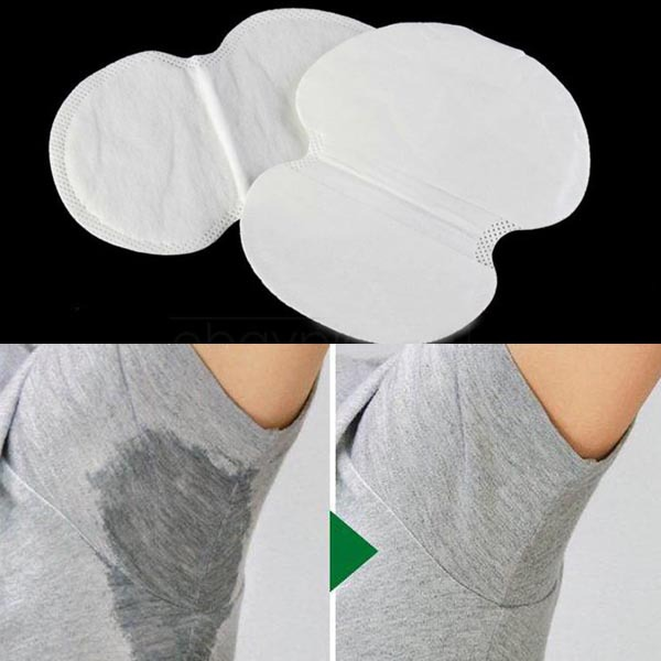 2PCS Disposable Absorbing Underarm Sweat Guard Pads Deodorant Armpit Sheet Dress Clothing Shield Sweat Perspiration Pads 268(China (Mainland))