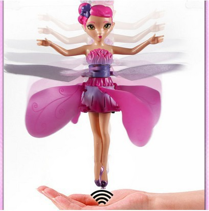 Flying Fairy Electronic DIY flying toy Infrared Induction Control Angel Baby Dolls Children like gifts Factory outlets(China (Mainland))