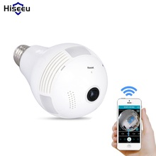 Buy Bulb Light Wireless IP Camera Wi-fi FishEye 960P 360 degree Mini CCTV VR Camera 1.3MP Home Security WiFi Camera Panoramic for $49.68 in AliExpress store