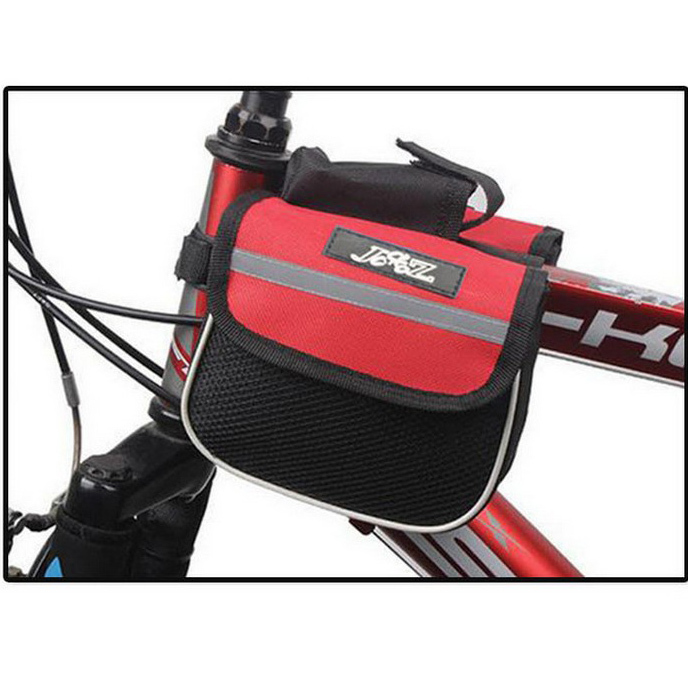 New bike accessories Roswheel Bicycle Front Frame Bag Bike Cycling Top Tube Bag 3 colors bag for bike bolsa(China (Mainland))