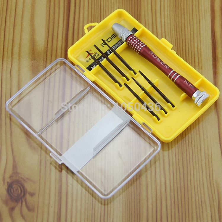 G G 7 pcs/set screwdriver set repair tool for Apple for Iphone 5 5S 4S 3GS for Ipad for Samsung &amp; Nokia HTC computer T T<br><br>Aliexpress