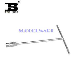 PRETTY 1pcs 14mm Hex Socket Knurling Handle Tee Type Bar Wrench Tool