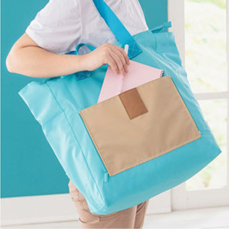 Travel on business travel outside of the portable multi-purpose folding BaoHu clothing receive a bag lady one shoulder bag(China (Mainland))