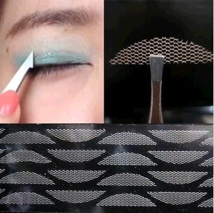 Гаджет  120pcs/5 packs  Gauze mesh lace stick Stealth double-fold eyelid sticker without glue Free Shipping None Красота и здоровье