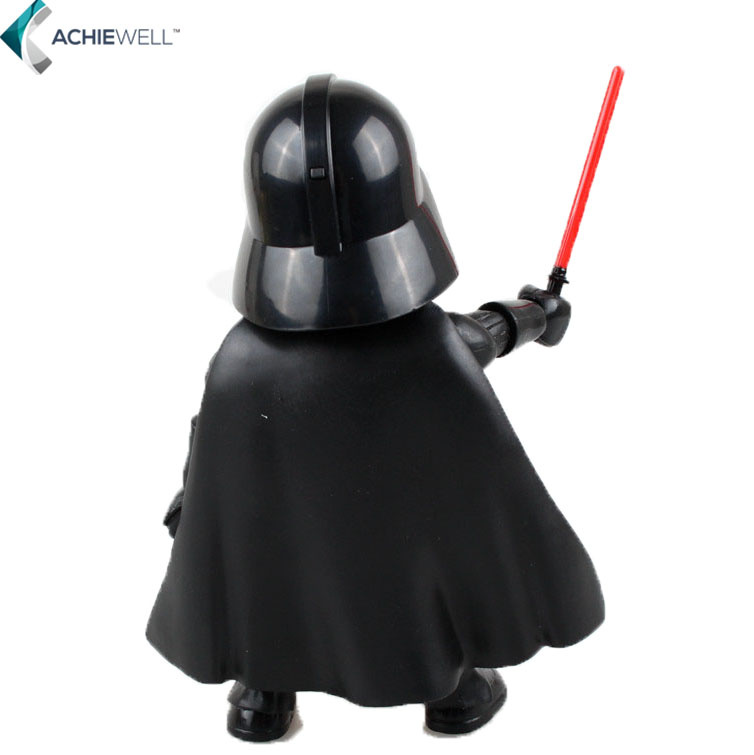 Brand Cute Version Star Wars Darth Vader Action Figure PVC Jedi Knight Model Collectible Model Movies
