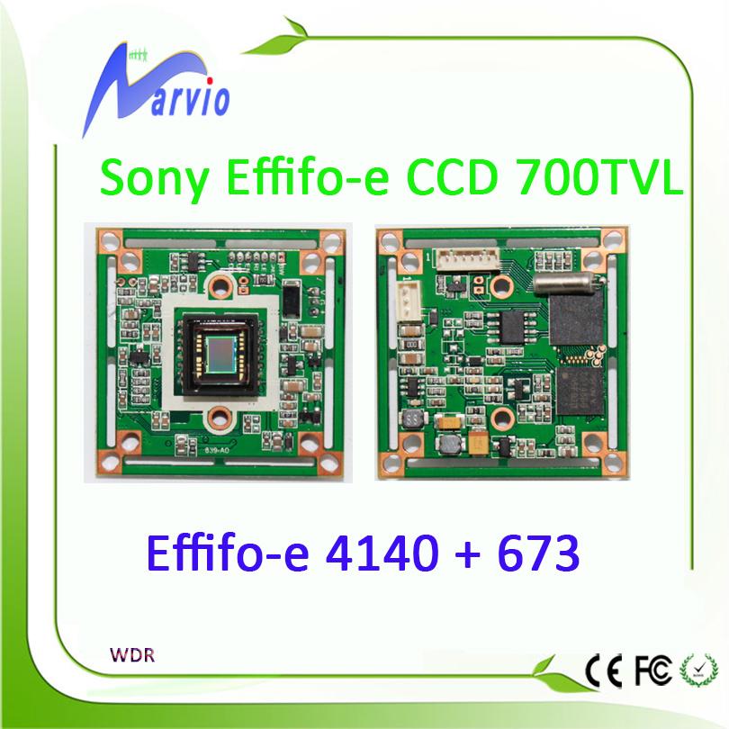 700TVL Analog Sony Effifo-e CCD Sensor CCTV Security Module board 4140 + 673 / 663 Good Night Vision Effection WDR(China (Mainland))