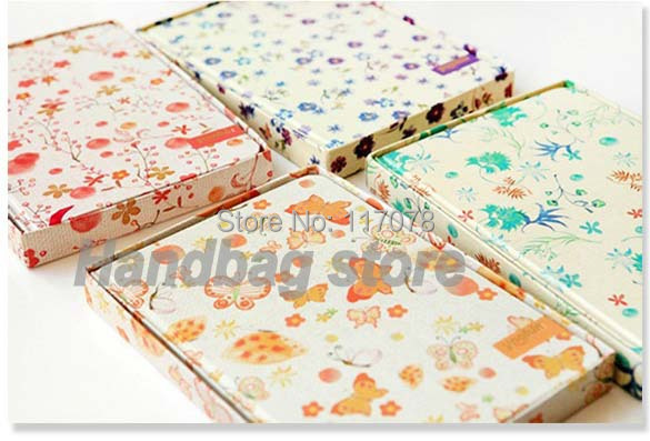 Korea Creative Stationery Pastoral Style Journal Planner Diary/Daily Book 4718