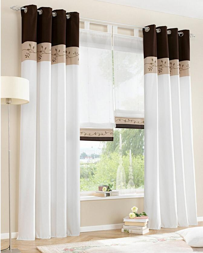 versandkostenfrei hei er modernen chinesischen gardinen wei schiere t ll kurzen fenster. Black Bedroom Furniture Sets. Home Design Ideas