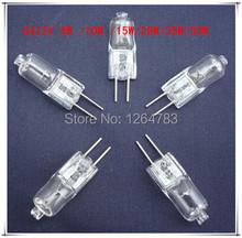 Hot G412V 5W / 10W / 15W / 20W / 35W / 50W bulb inserted beads crystal lamp halogen bulb 100pcs / lot free shipping!(China (Mainland))