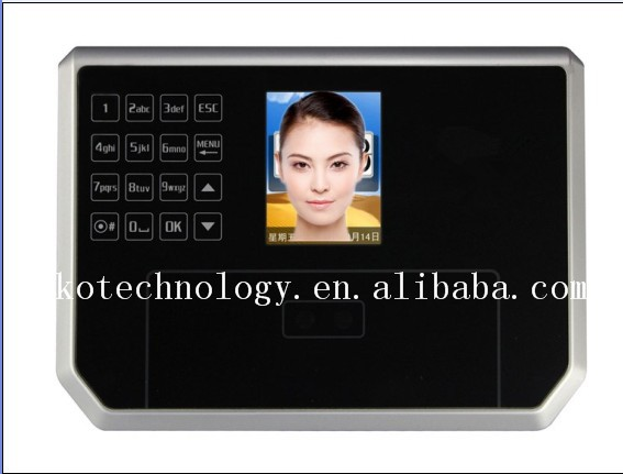 Free Shipping KO-FACE365B Office Use Facial Recognition For Employee Attendance Tracking(China (Mainland))
