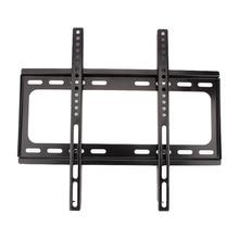 "1PC Wall Mount TV Bracket Slim Flat Holder Rack LCD LED PLASMA 26 32 39 40 42 47 48 50 55"" Inch Black(China (Mainland))"