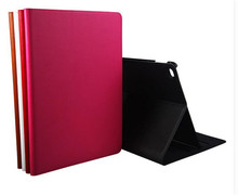 ZP Fashion Luxury Filp Genuine Leather Book Case For Apple iPad Air 2 Air2 iPad 6 Smart Protective Skin Case With Stand(China (Mainland))