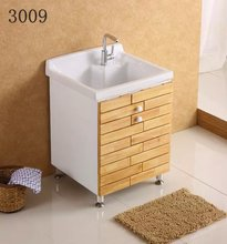 solid wood vanity bathroom cabinet bathroom fitting wholesale Bathroom furniture bathroom vanity