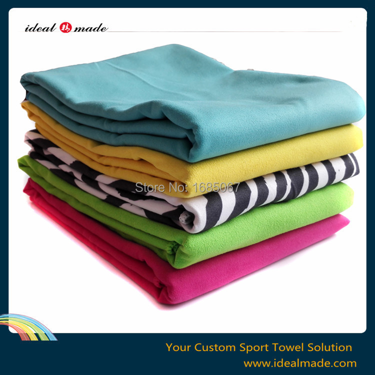 40pcs/lot Large Beach Towel 100 % microfiber Holiday Towels Sheet Bath Luxury Combed Absorbent140*70cm(China (Mainland))