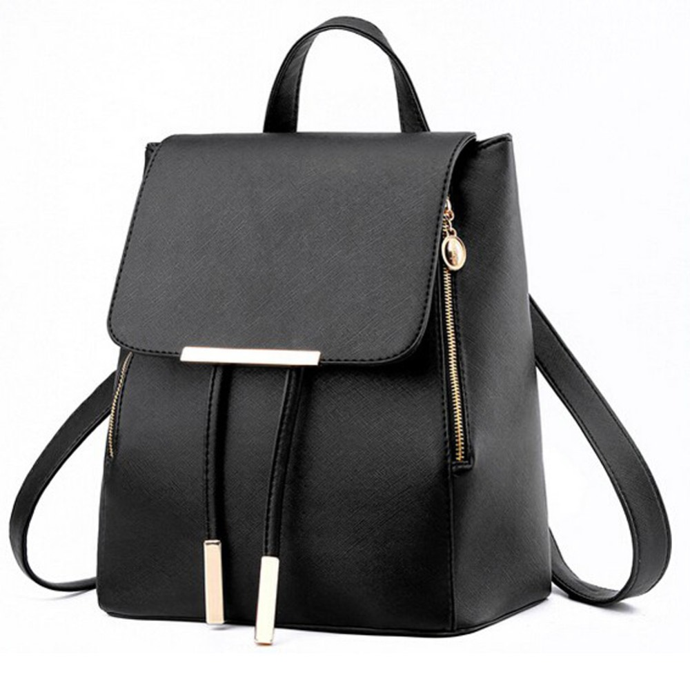 Fashion Design Women Leather Backpacks School Shoulder Bags Rucksacks for Teenager Girls Ladies Satchel Bags Bolsa Feminina(China (Mainland))