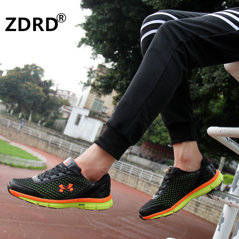 ZDRD Hot!! 2016 New Breathable Men Casual Shoes Lace Up Mens Trainers Comfortable Zapatillas Hombre Basket Femme Light Soft(China (Mainland))