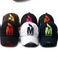 New Exquisite Embroidery Casual Cap Fashion Men Women Baseball Cap Outdoor Sports Caps Sun Hats qy850281