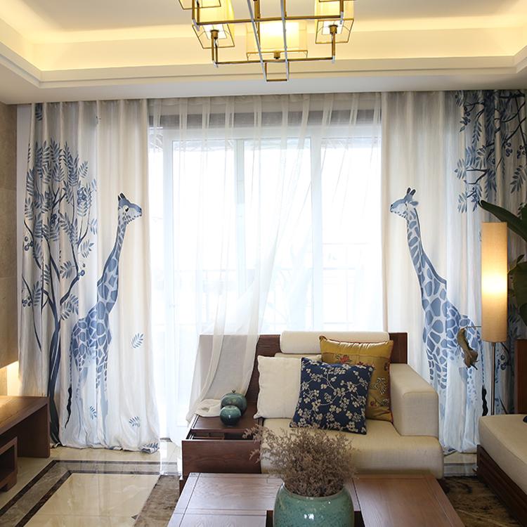 Online kopen wholesale japanse stijl gordijnen uit china japanse stijl gordijnen groothandel - Japanse stijl kamer ...