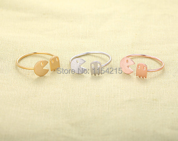 Min 1pc - Animal and Ghost Ring-stretch rings,fun rings EY-R011(China (Mainland))