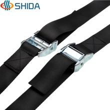 Strong Quick Lock Strap Luggage Cargo Belt long 3.8cm*300cm 5PCS/lot ZINC Cam buckle tie down straps Free shipping(China (Mainland))
