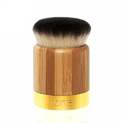 1 PCS NEW Tarte Airbuki Bamboo Loose Powder Foundation Brush Kabuki UNBOXED flawless Mushroom brushes pier Free Drop Shipping(China (Mainland))