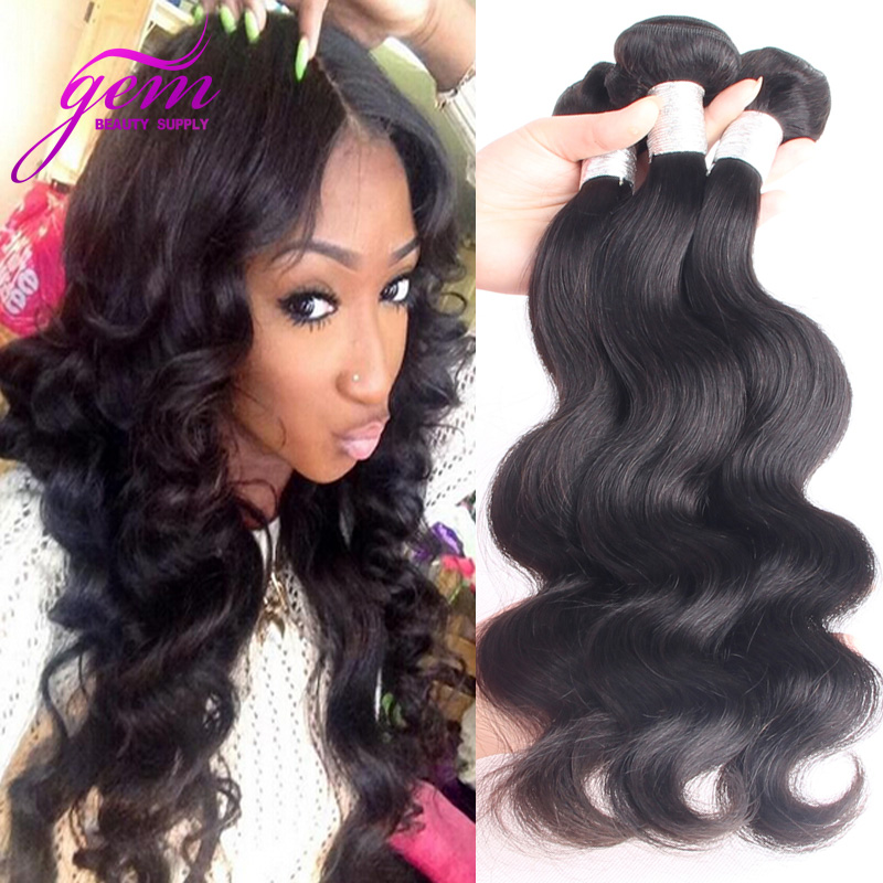 Unprocessed 6A Peruvian Virgin Hair Body Wave Cheap Peruvian Virgin Hair 3 Bundle Deals queen peruvian virgin hair body wave 1b