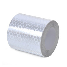 White Gum Crystal Lattice Reflective Film Reflective Sticker Reflective Warning Reflective Flame Retardant Material With Hexagon