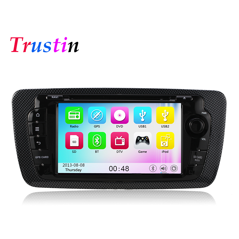 car dvd player seat ibiza 2009 2010 2011 2012 2013 2014 gps navigation 3g wifi usb radio. Black Bedroom Furniture Sets. Home Design Ideas