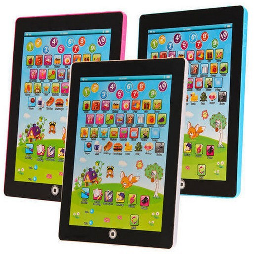 English Children Game Music Phone Toy Tablet LAPTOP Computer Kid Learning & Educational Toys Electronic Notebook Early Machine(China (Mainland))
