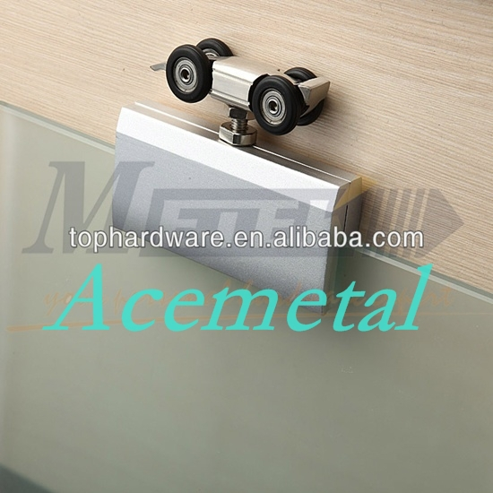 frameless glass sliding door hardware(China (Mainland))