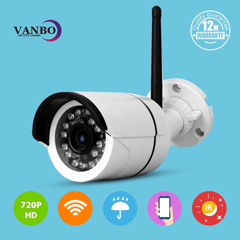 Video Security Camera CCTV HD 720P Home Surveillance Wireless WIFI Network IP Camera Outdoor Onvif H.264 IR Night Vision IP Cam(China (Mainland))