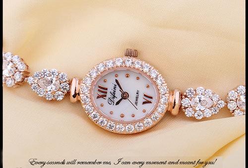 Water Resistant Fashion Women Rhinestone Watch Round Analog Wristwatches Ladies Quartz Watches Girl Promotions free shipping(China (Mainland))