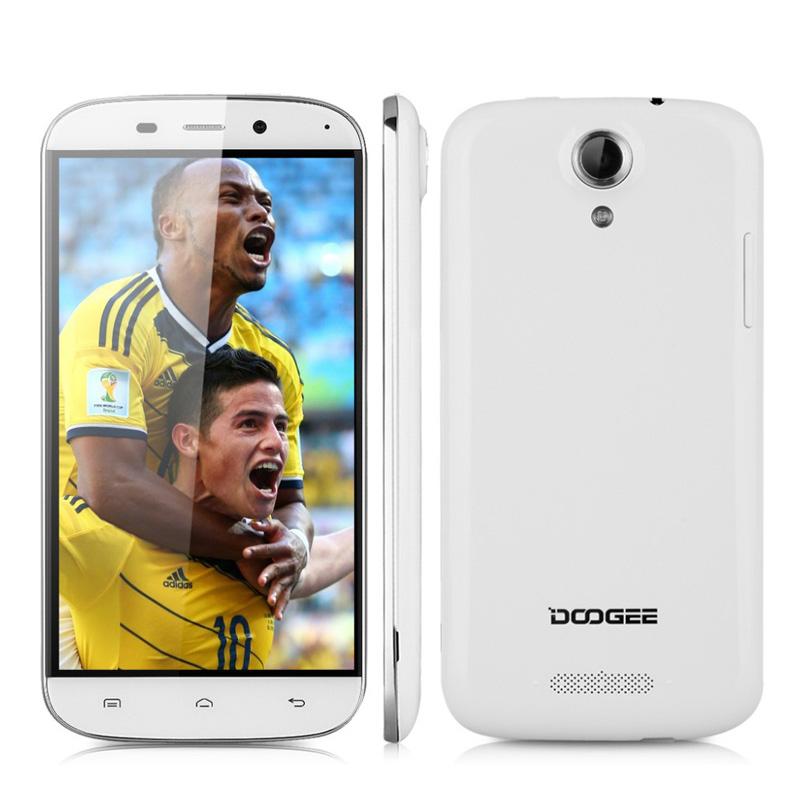 "Original Doogee NOVA Y100X 5.0"" HD WCDMA 3G Mobile Phone MTK6582 Quad Core 1GB RAM 8GB ROM Android 5.0 8MP Dual SIM Smartphone(China (Mainland))"