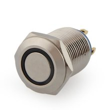 Buy DHDL- 2A / 3V push button switch push button 12 mm nickel-plated brass bell push for $1.30 in AliExpress store