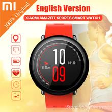 Xiaomi AMAZFIT Sports Smart Watch Phone Bluetooth Android WiFi Dual Core 512MB 4GB GPS Tracker Heart Rate SmartWatch Wristband(China (Mainland))