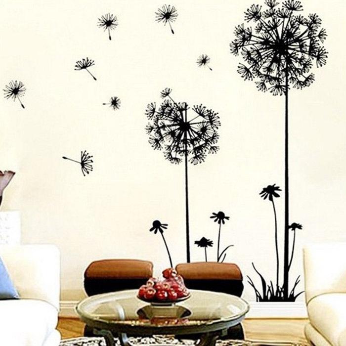 Selljimshop Creative Dandelion Wall Art Decal Sticker Removable Mural PVC Home Decor Gift 50*70cm(China (Mainland))