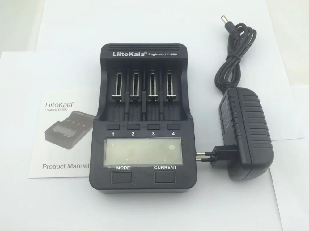 2015 New Liitokala lii500 Smart Universal LCD LI ion NiMh AA AAA 10440 14500 16340 17335