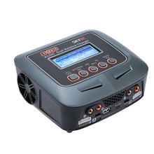 Free Shipping SKYRC D100 100W 2 Ports LiFe LiIon LiHV NiMH NiCd LiPo Battery Charger Discharger SK-100089