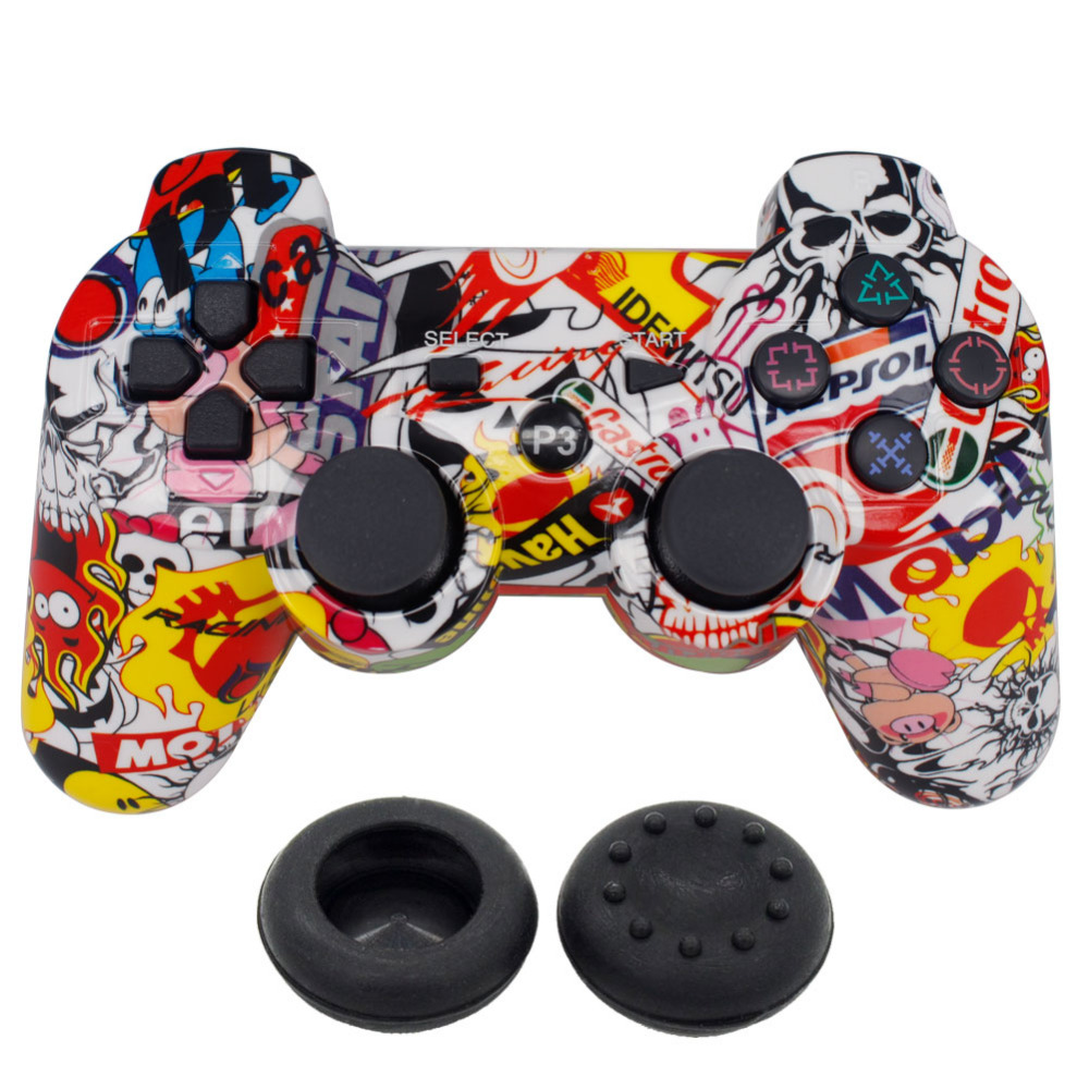 blueloong Wireless Controller Double Vibration Joystick SIXAXIS Game pad For Playstation 3 PS3 Dualshock 3 FOR song playstation3(China (Mainland))