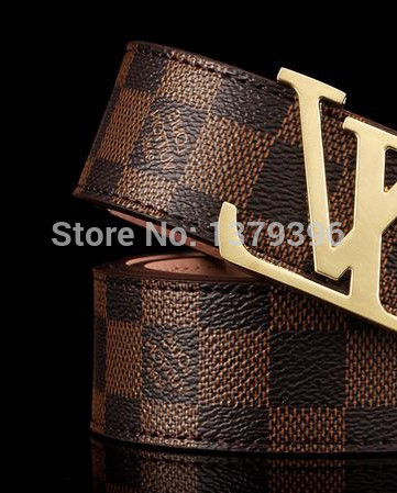2015 New Men's Genuine Leather Belt , designer belts men high quality Brand Real leather Belt man Waist belt luxury(China (Mainland))