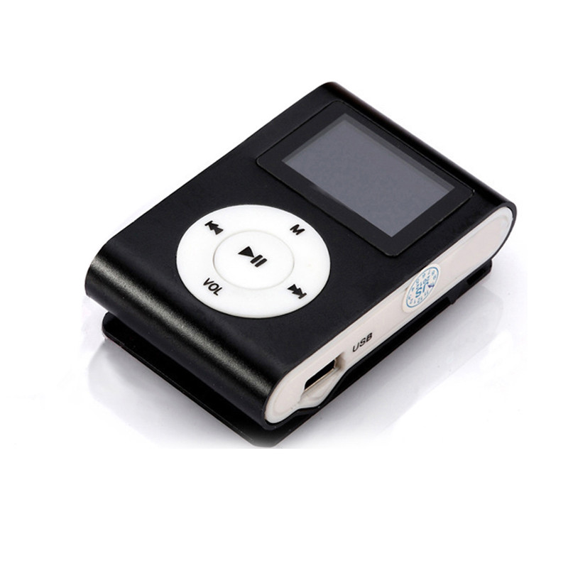Manufacturers selling LCD screen mini Mp3 player electronics movement FM micro metal Mp3 music player support 8 gb TF card(China (Mainland))