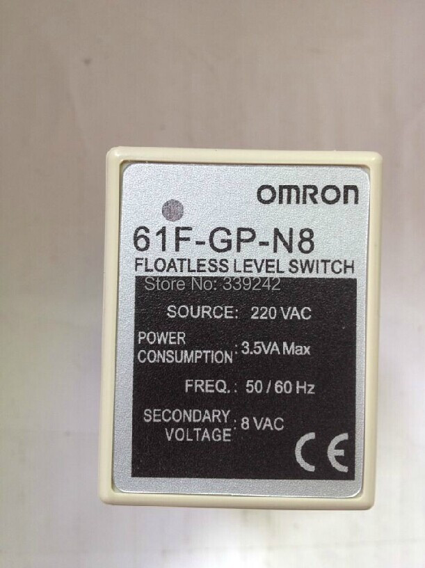 OMRON 61F-GP-N8 FLOATLESS LEVEL SWITCH NEW IN BOX(China (Mainland))
