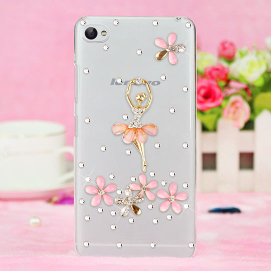 3d bling Fashion rhinestone mobile case for lenovo S60 S60t/Lemon K3/A916/NOTE 8/A616 cell generations of pearl protection case(China (Mainland))