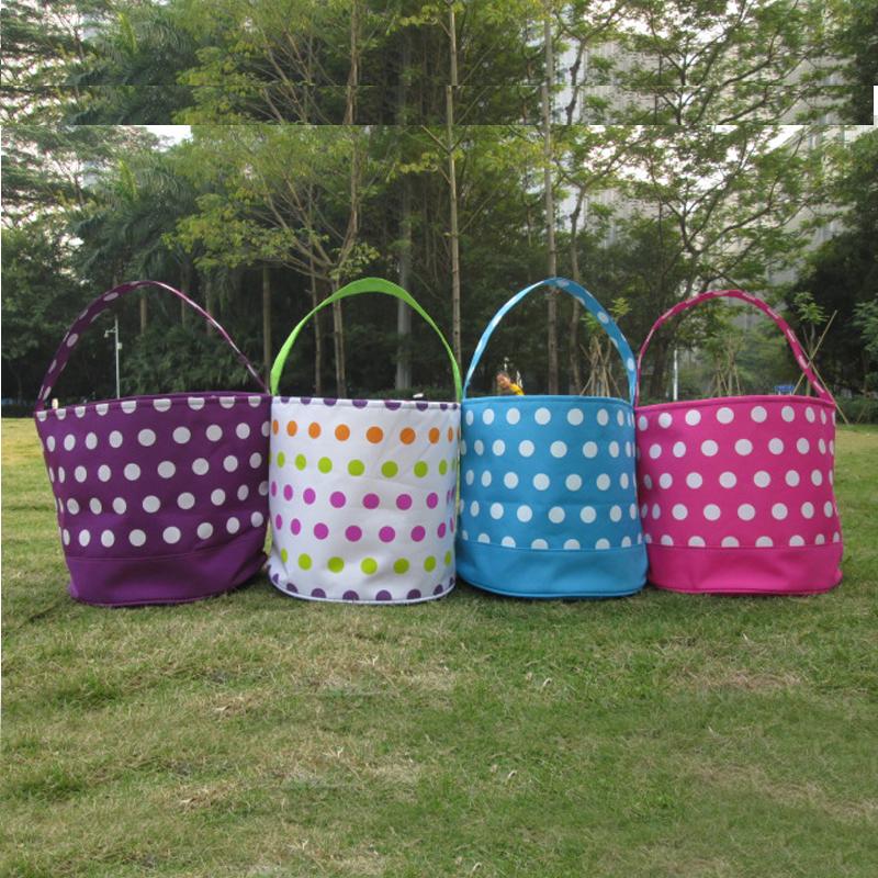 Buy Wholesale Polka Dots Easter Basket