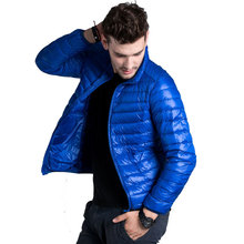 2015 Autumn Winter Duck Down Jacket, Ultra Light Thin plus size winter jacket for men Fashion Sports mens Outerwear coat