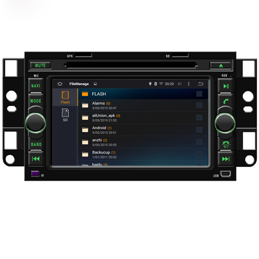HD Quad Core 16G 7'' Pure Android 5.1.1 Car DVD Player for CHEVROLET CAPTIVA 2006-2012 for Daewoo Winstorm for Holden Captiva(China (Mainland))